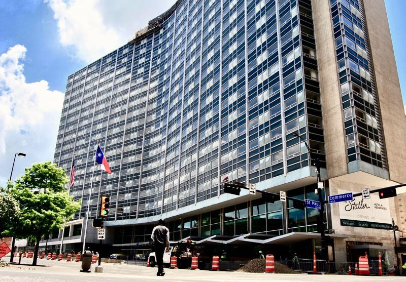 The Statler Hilton.
