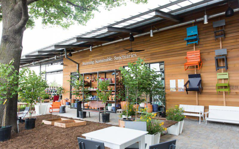TreeHouse opened in Dallas on June 1. It's the first energy-positive big box store in the world.
