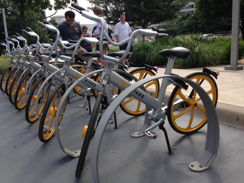 Garland-based VBikes was the first company to distribute its dockless bikes around Dallas last June. At least four other companies have joined the scene in the past year.