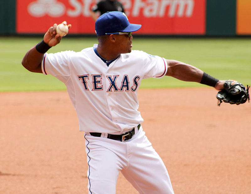 Adrián Beltré is the third baseman for the Texas Rangers. He made his 3,000th career hit over the weekend.