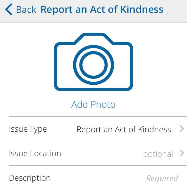 """As of last month, the City of Arlington's """"Ask Arlington"""" allows residents to report good deeds."""