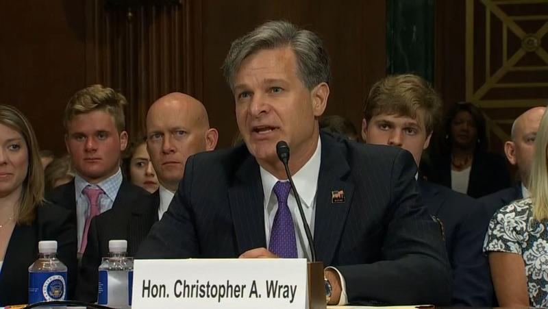 Christopher Wray is President Donald Trump's nominee to lead the FBI, succeeding James Comey, who was fired in May.