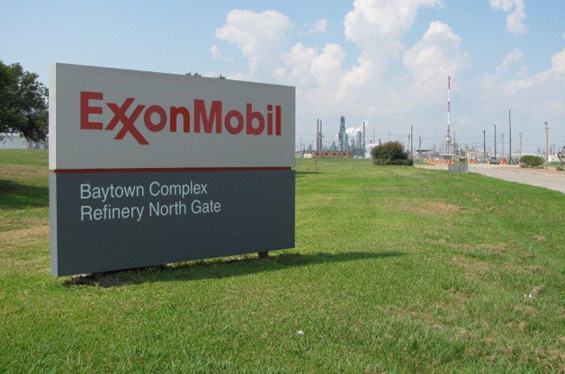 ExxonMobil refinery in Baytown, Texas