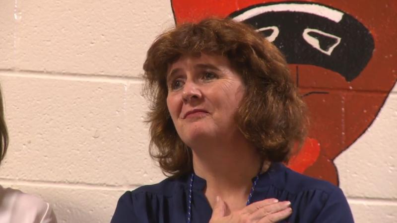 Jeanie Greenidge teaches at O'Banion Middle School in Garland.