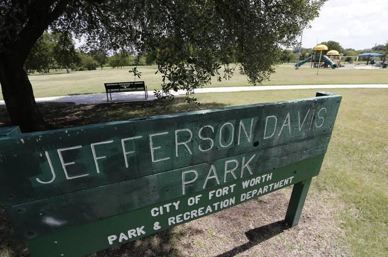 Jefferson Davis Park is at Townsend Drive and Bolt Street in south Fort Worth.