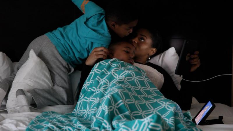 Jennifer Anderson and her sons Jayden and Jordan were the focus of the video that earned KERA its first-ever national Edward R. Murrow Award.