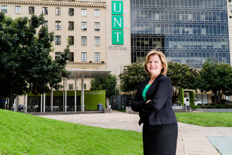 Lesa Roe, the next UNT System Chancellor.