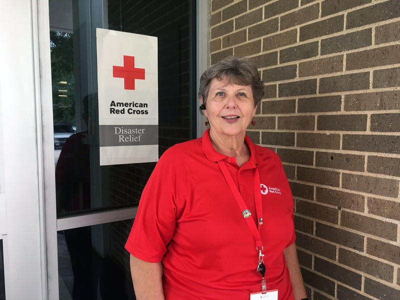 Georgia Duncan is a volunteer with the Red Cross. She said the shelters have activities for kids and adults, like jigsaw puzzles, books, legos and a TV.