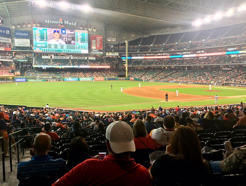 Houston area residents spent Saturday at Minute Maid Park to catch the Houston Astros.