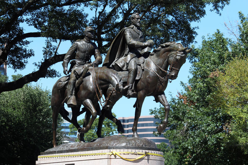 In September, Dallas removed a statue of Confederate Gen. Robert E. Lee from Oak Lawn Park (renamed from Lee Park).