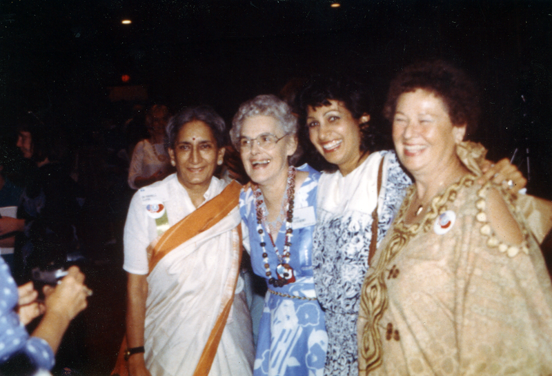 Castleberry, second from left, founded Peacemakers Inc. in 1987.