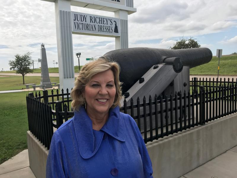Cindy Harriman is the executive director of the Texas Civil War Museum.