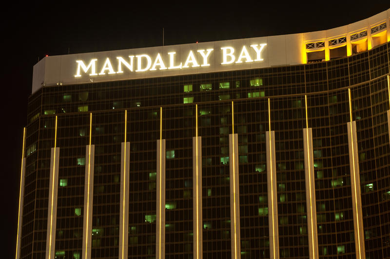 The Mandalay Bay Resort and Casino on the Las Vegas Strip in 2012.