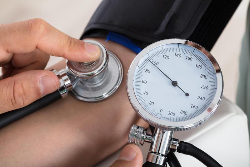 High blood pressure is a major symptom of PKD
