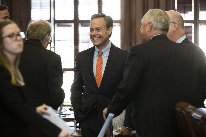 Speaker of the Texas House of Representatives Joe Straus before the opening of the special session on Jul. 18, 2017.