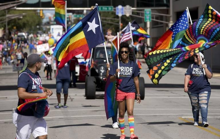 The 36th annual Tarrant County Gay Pride Parade was held on Oct. 7 in downtown Fort Worth.