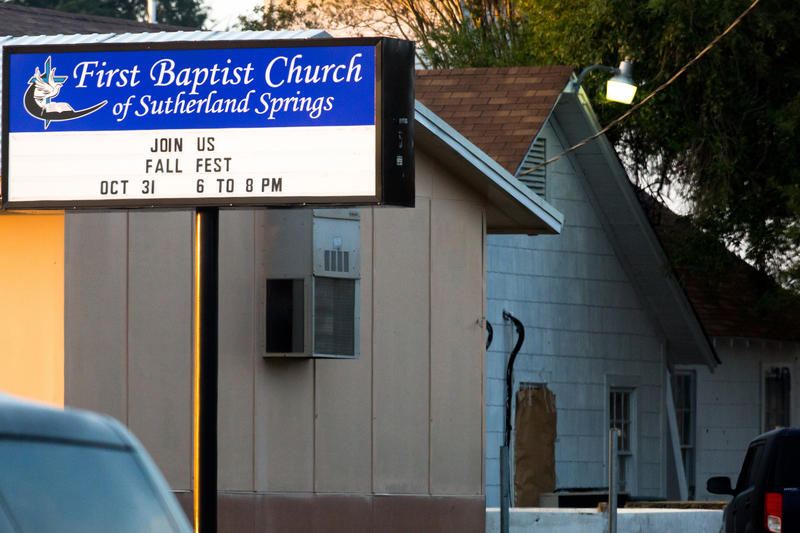 The congregation of First Baptist Church in Sutherland Springs was attacked by a gunman on Nov. 5, 2017.