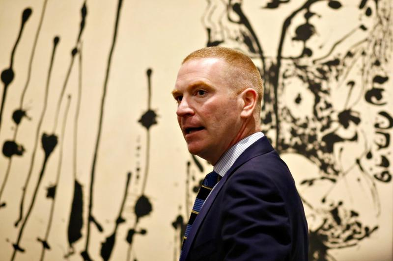 Gavin Delahunty has resigned from his position as Hoffman Family Senior Curator of Contemporary Art at the Dallas Museum of Art.