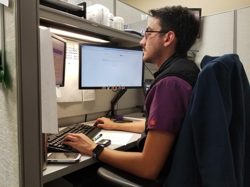 Cruz Ramirez is one of the dozens of medical interpreters at Parkland Hospital.