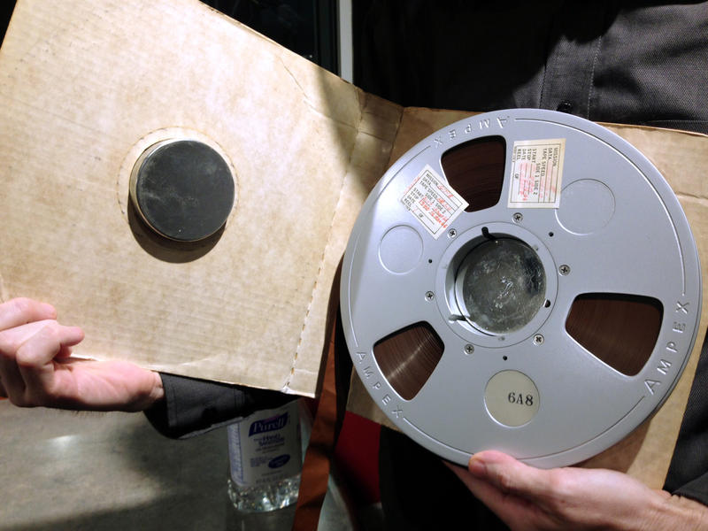 NASA recorded all communications between the astronauts and mission control staff during the historic moon missions on more than 200 14-hour analog tapes, each with 30 tracks of audio.