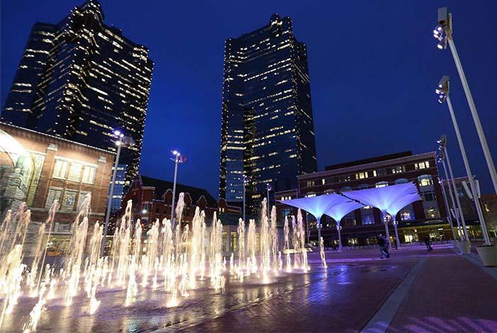 The economic development report praised Sundance Square and downtown for transforming Fort Worth, but called the two successes 'outliers.'