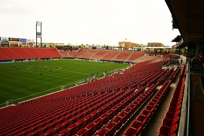 Toyota Stadium in Frisco.