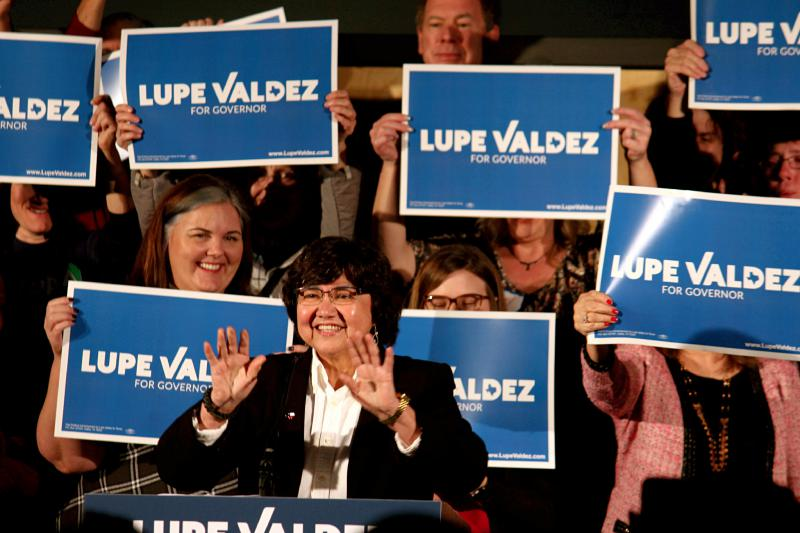 Lupe Valdez kicked off her gubernatorial campaign on Sunday afternoon at Tyler Station in Oak Cliff. Ten Democrats are running for Texas governor.