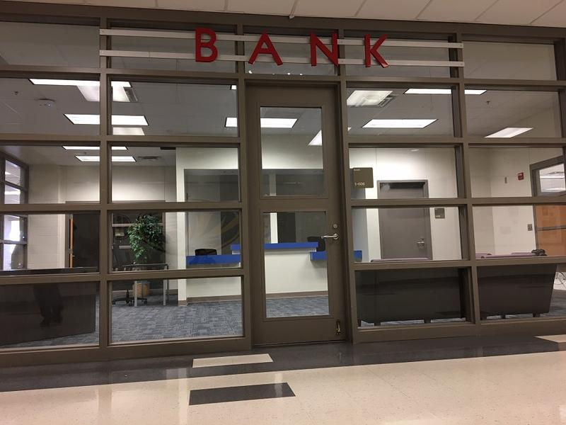 The school hopes to have a functioning bank on campus by the start of the 2018/2019 school year.