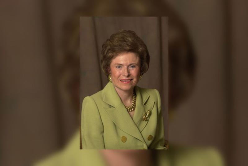 Former Texas First Lady Rita Crocker Clements.