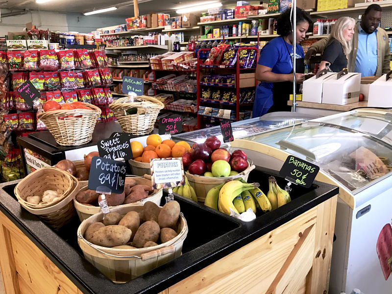 Fruits and vegetables are part of an overall change at this Stop Six convenience store aimed at helping residents make healthier choices.
