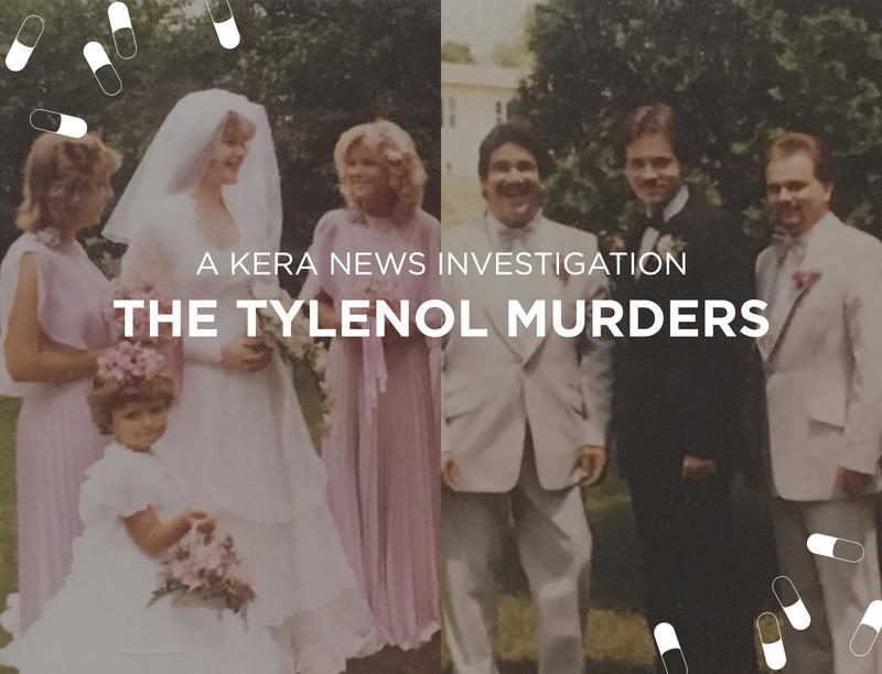 Theresa Tarasewicz (the bride) and her husband, Stanely Janus (the groom) both died from Tylenol laced with cyanide in 1982.