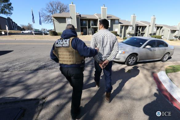 Last month, ICE arrested 86 unauthorized immigrants, the majority from Mexico, in North Texas and Oklahoma during a three-day operation.