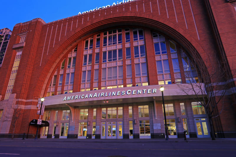The American Airlines Center is the home of the Dallas Mavericks. Women interviewed for Sports Illustrated said the players always treated them with respect.