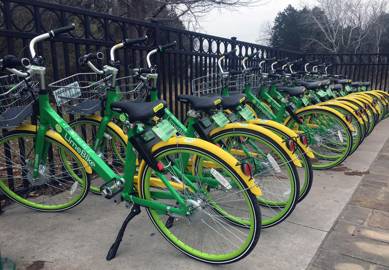 LimeBike has rolled out 10,000 bikes in Dallas.