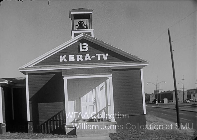 "KERA Channel 13 went on the air in late 1960 with a limited schedule of programs for teachers and students. It was the ""Little Red Schoolhouse of the air."""