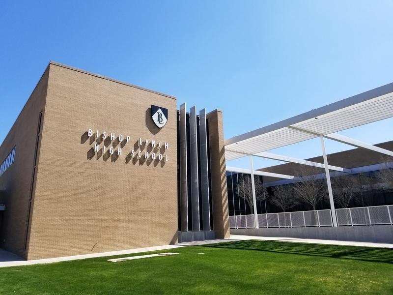 Bishop Lynch high school in Dallas where Trevor Cadigan and Brian McDaniel attended.