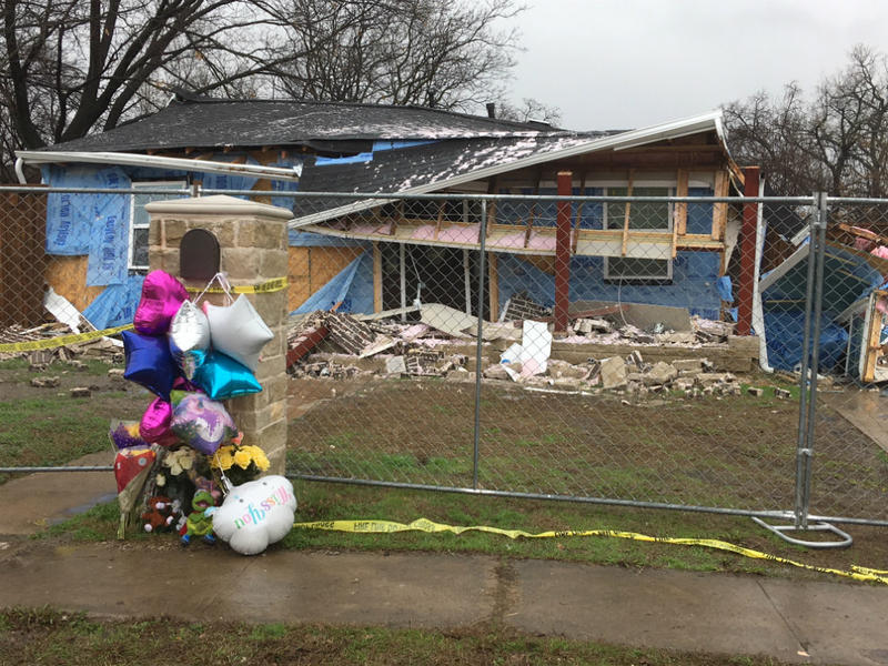 Several gas leaks have been reported in Northwest Dallas, and one may have led to a house exploding on Española Drive, killing a 12-year-old girl.