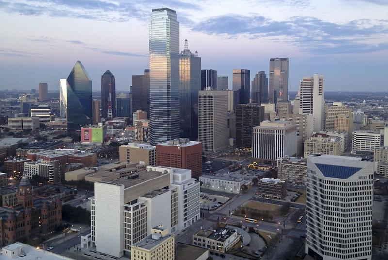 Downtown Dallas, Texas.