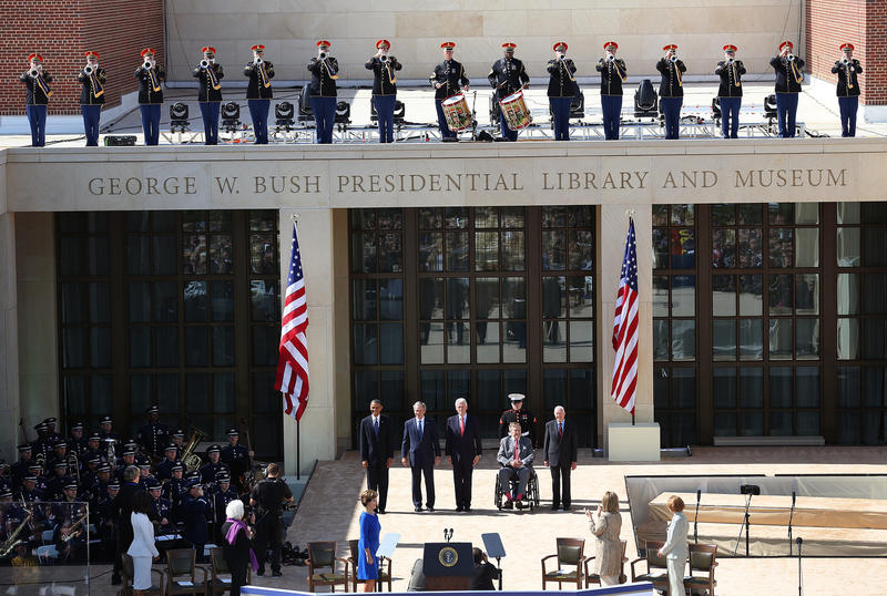 When the George W. Bush Presidential Center opened five years ago, the last five living presidents of the United States attended the dedication.