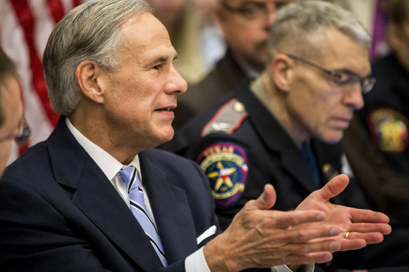 Texas school administrators and law enforcement leaders joined a round table discussion with Gov. Greg Abbott focusing on school safety May 22, 2018.