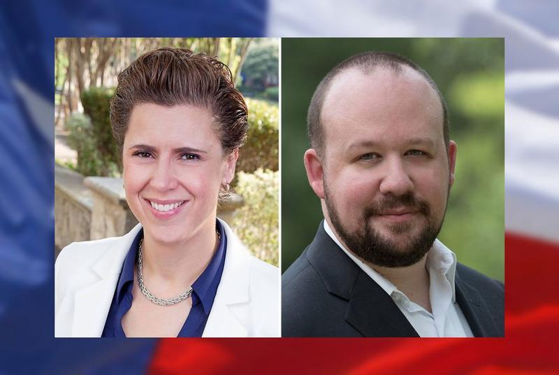 Lorie Burch and Sam Johnson are in the Democratic runoff in U.S. Congressional District 3.
