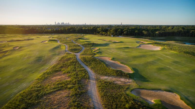 Trinity Forest Golf Club in South Dallas.