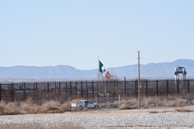 Tornillo-Guadalupe Port of Entry and International Bridge.