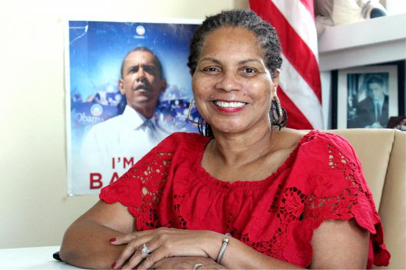 Deborah Peoples is chairperson of the Tarrant County Democratic Party, based in Fort Worth, Texas.