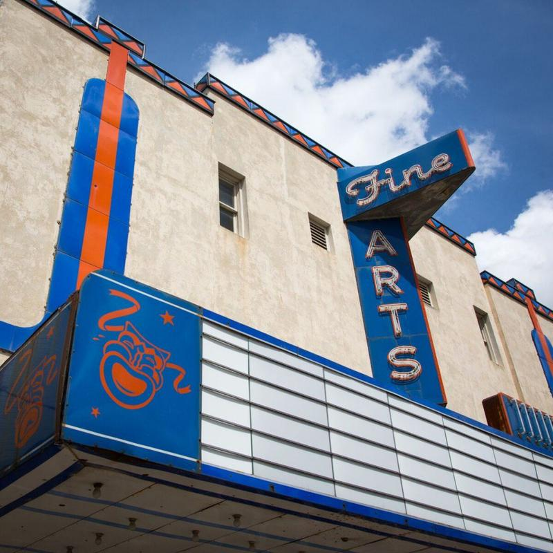 The new owners of the Fine Arts Theatre in Denton, Texas, imagine the venue will serve more as a community center once it's restored and reopened.