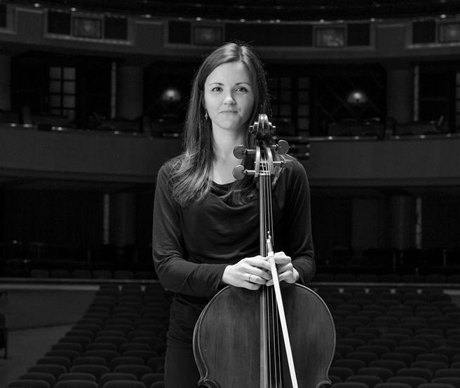 Jennifer Humphreys is a cellist with the Dallas Symphony.