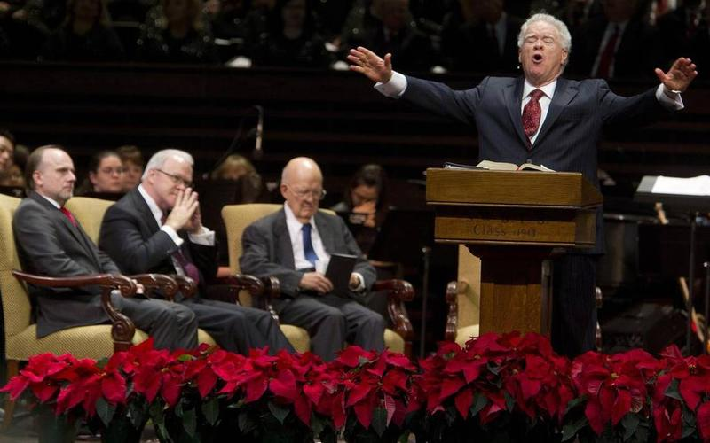 Paige Patterson, preaching, was removed as president of Southwestern Baptist Theological Seminary in Fort Worth on May 30.