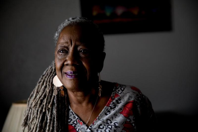 Shirley Martin, 77, of Dallas, Texas, can't afford to retire, but she doesn't want to either.