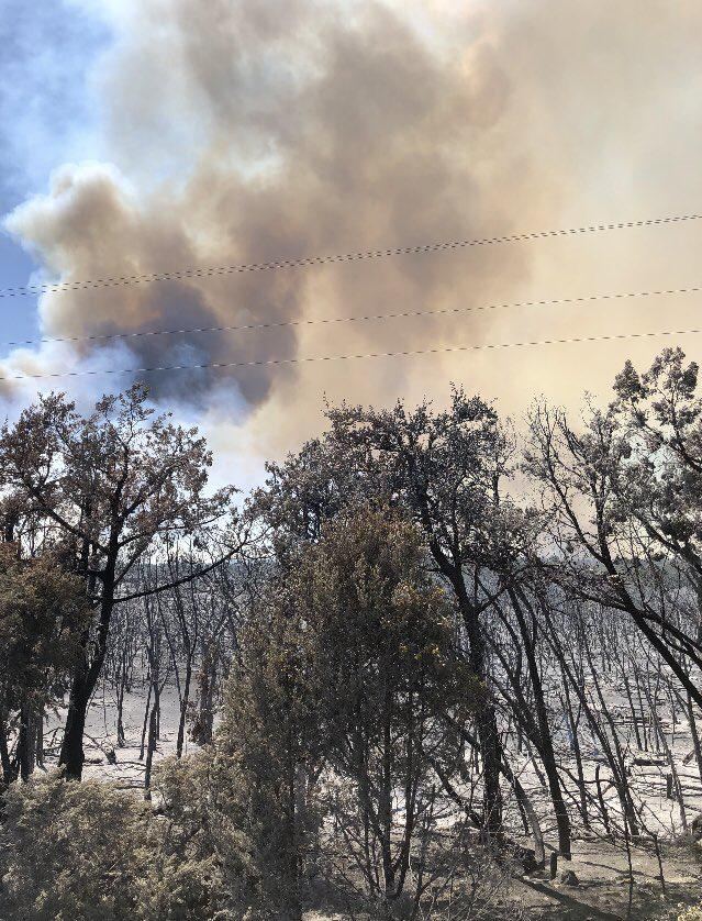 The wildfire was about 90 percent contained as of Sunday night, Texas A&M Forest Service officials said.