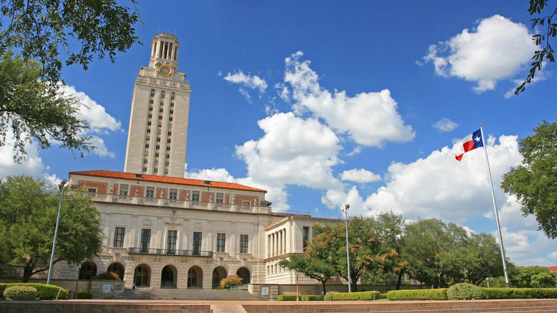 The University of Texas at Austin campus.